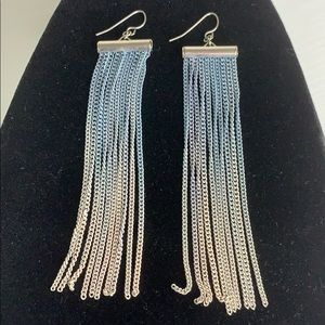 Ombré Chain Mesh earrings